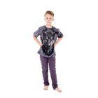 Футболка детская Collorista 3D Shaman, возраст 8-10 лет, рост 134-140 см, цвет серый