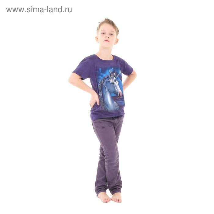 Футболка детская Collorista 3D Moonshine, возраст 12-14 лет, рост 152-158 см, цвет фиолетовый