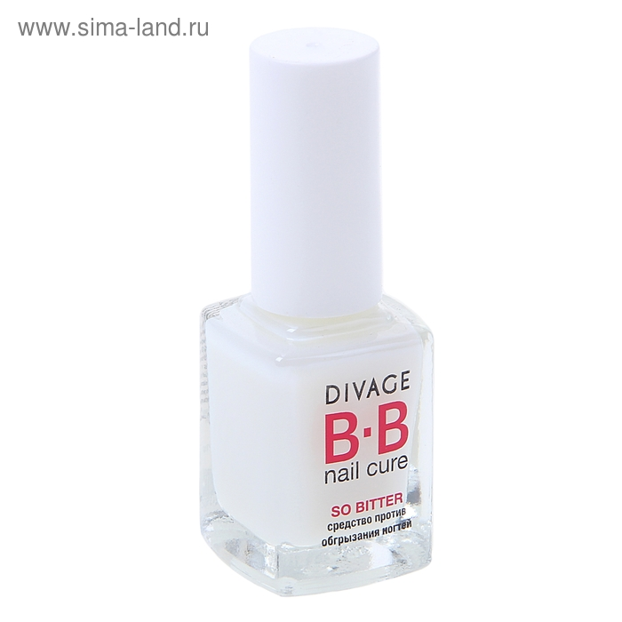 Средство против обгрызания ногтей Divage Bb so bitter