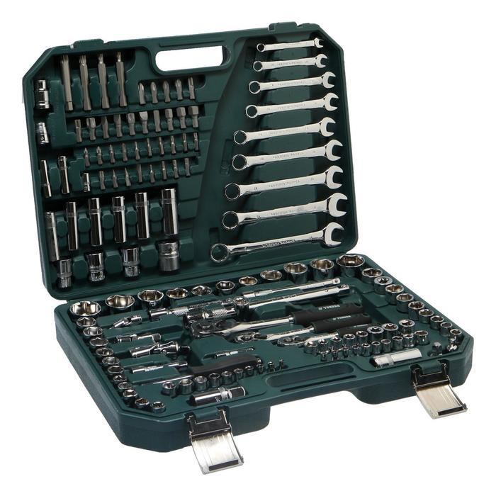 Набор инструмента TUNDRA premium, универсальный в кейсе 136 предметов