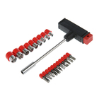 Набор отверток TUNDRA basic, в комплекте биты и головки, 21 предмет