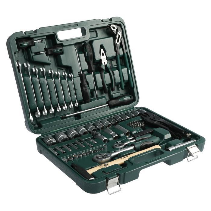Набор инструмента TUNDRA premium, универсальный в кейсе 72 предмета