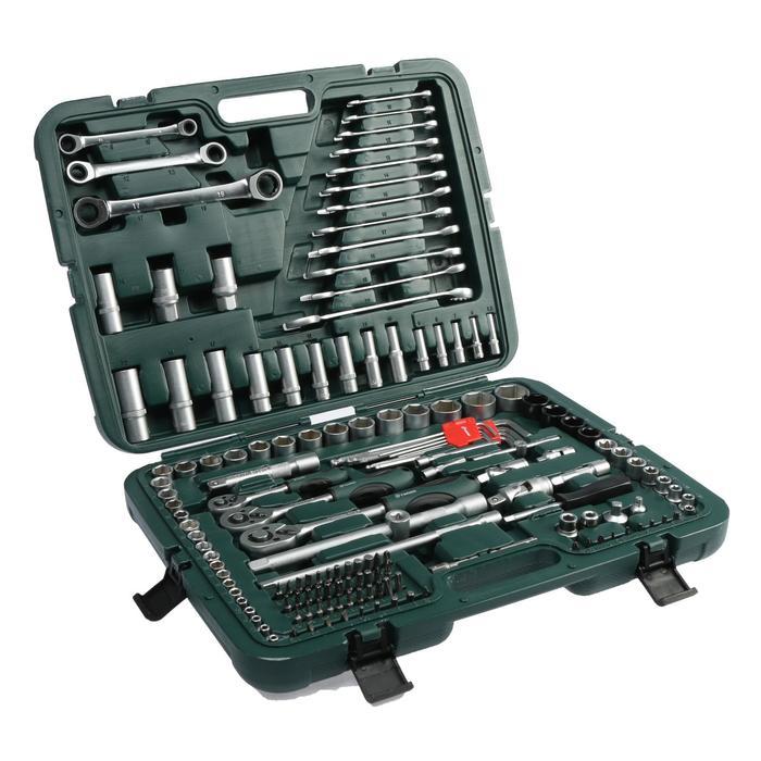 Набор инструмента TUNDRA premium, универсальный в кейсе 160 предметов