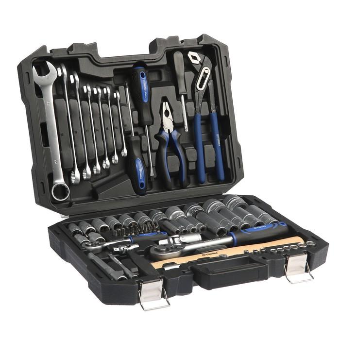 Набор инструмента TUNDRA premium, универсальный в кейсе 74 предмета