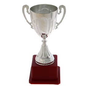 Кубок спортивный пластик 045, цвет серебро Ош