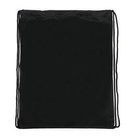 Сумка для сменной обуви универсальная 405х340 мм, чёрная Ош