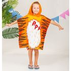 """Детское полотенце-пончо с капюшоном """"Collorista"""" Тигренок 60 х 120 см, хлопок 280 гр/м2"""