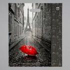 """Пакет """"Мой Париж"""", полиэтиленовый с вырубной ручкой, 38 х 45 см, 60 мкм - фото 308983655"""