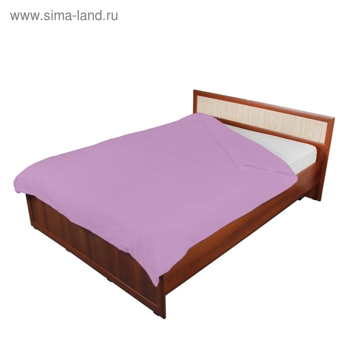 Пододеяльник 2 сп., размер 175х216 см, 142 г/м2, цвет светло-фиолетовый