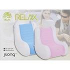 Кресло-качалка FASIGO надувное, винил 95х65х86 см, цвета МИКС Jilong