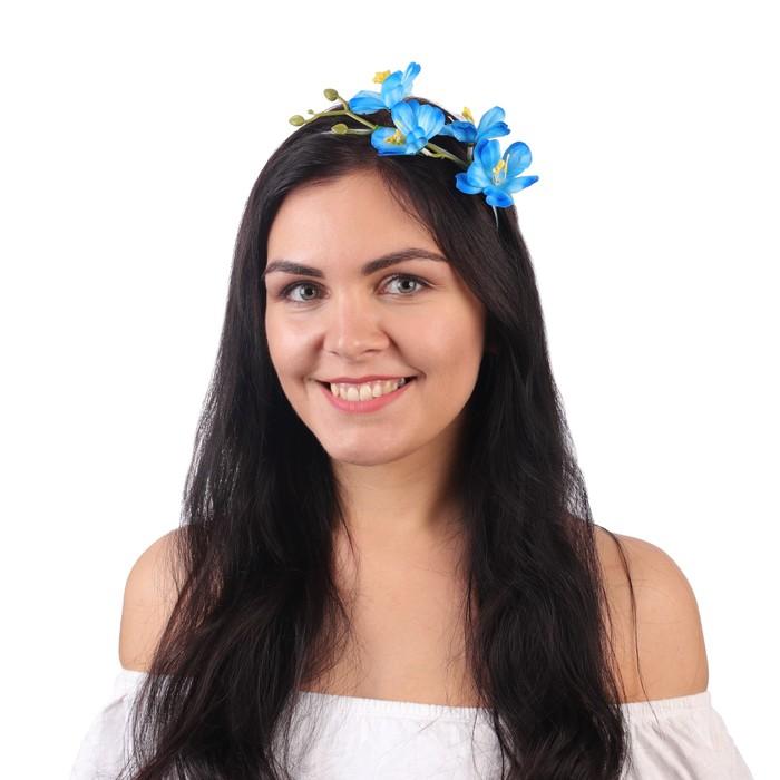 Гавайский ободок ''Лазурный цветок'' 1036709
