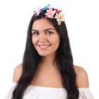 """Гавайский ободок """"Мгновение весны"""""""