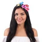 """Гавайский ободок """"Райский сад"""""""