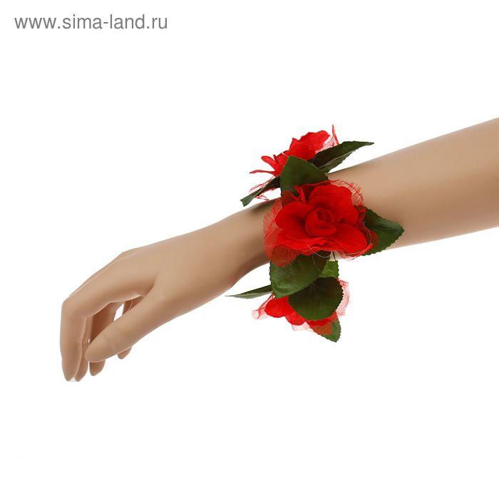 """Браслет """"Роза"""", цвета МИКС"""