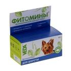 """Витамины """"Фитомины"""" для собак, с фитокомплексом для шерсти, 50 г"""
