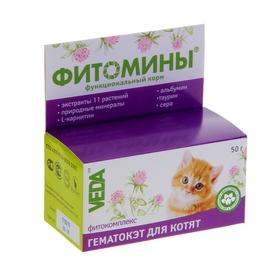 """Витамины """"Фитомины"""" для котят, гематокэт, 50 г"""