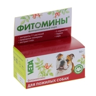 """Витамины """"Фитомины"""" для пожилых собак, 50 г"""