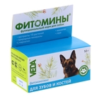 """Витамины """"Фитомины"""" для собак, с фитокомплексом для зубов и костей, 50 г"""