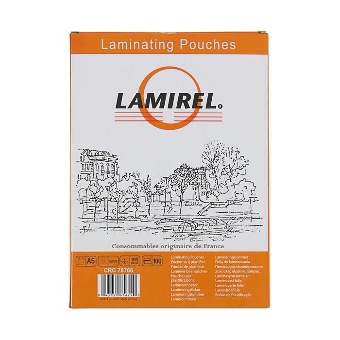 Пленка для ламинирования 100шт Lamirel А5, 100мкм