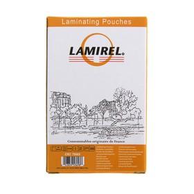 Пленка для ламинирования 100шт Lamirel 54x86мм 125мкм Ош