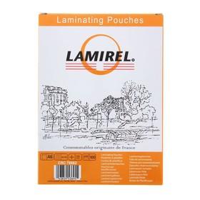 Пленка для ламинирования 100шт Lamirel А6, 125мкм Ош