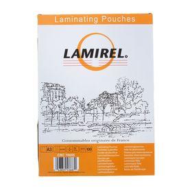 Пленка для ламинирования 100шт Lamirel А3, 75мкм Ош