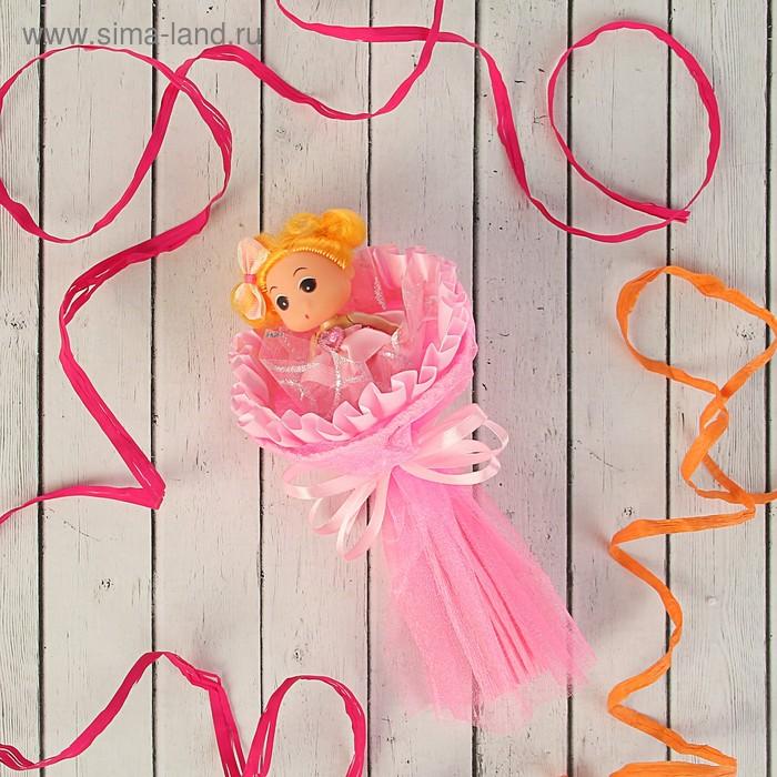 """Букет из игрушек """"Кокетка"""" розовый"""