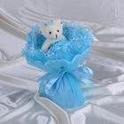 """Букет из игрушек """"Принцесса"""" голубой"""