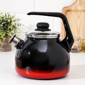 Чайник со свистком «Кармен» 3 л, фиксированная ручка