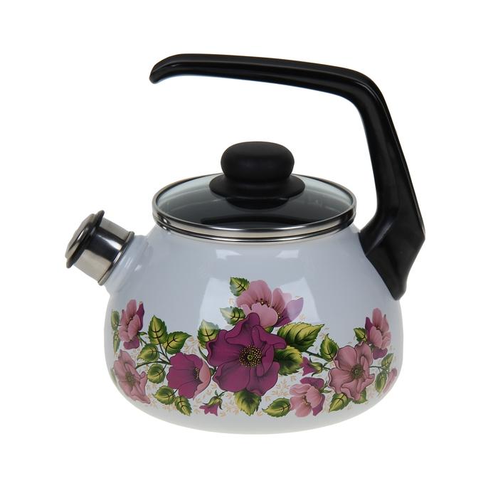 Чайник со свистком 2 л Violeta, фиксированная ручка