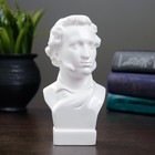 Бюст Пушкин малый белый 5х6х15 см
