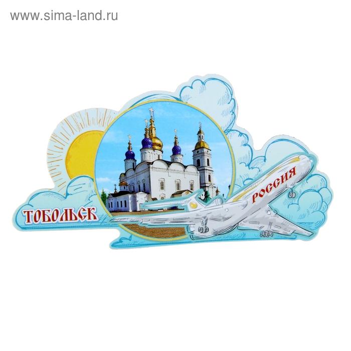 """Магнит с самолетом """"Тобольск"""""""