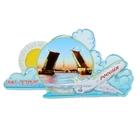 Магнит с самолётом «Санкт-Петербург»