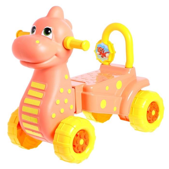 """Толокар """"Дракон"""", цвет фиолетовый"""