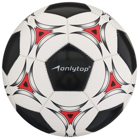 Мяч футбольный, размер 5, 32 панели, PVC, 2 подслоя, машинная сшивка, 260 г, МИКС