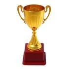 Кубок спортивный пластик 045, цвет золото