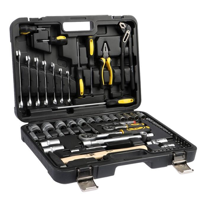 Набор инструмента TUNDRA premium, универсальный в кейсе 75 предметов