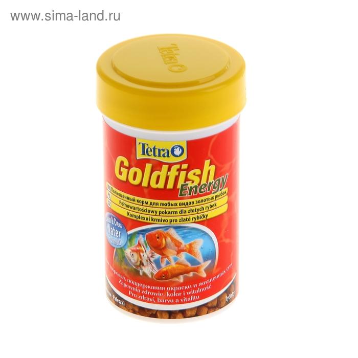 Корм для рыб Tetra Goldfish Energy гранулы, 100 мл