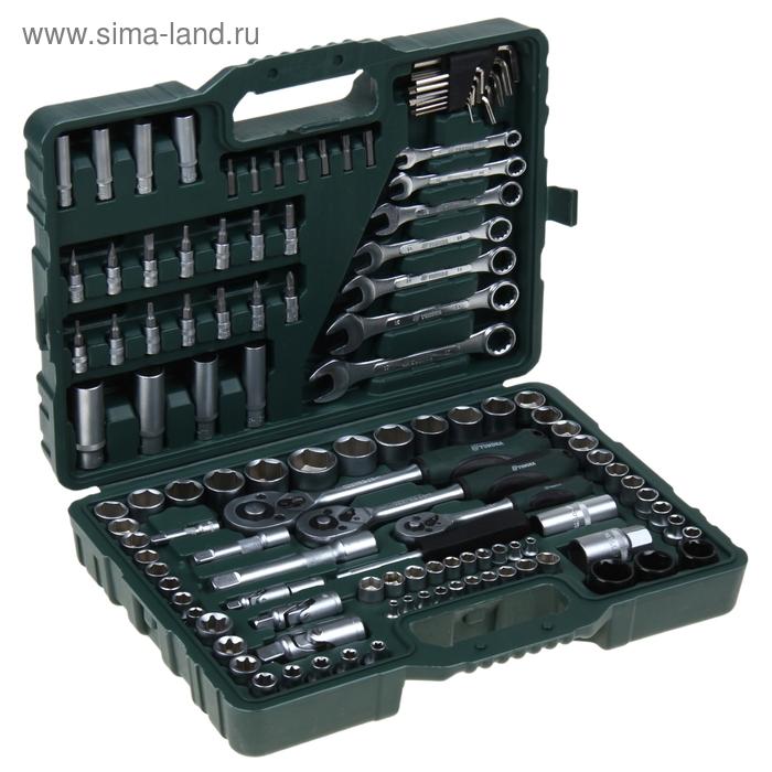 Набор инструмента TUNDRA premium, универсальный в кейсе 120 предметов
