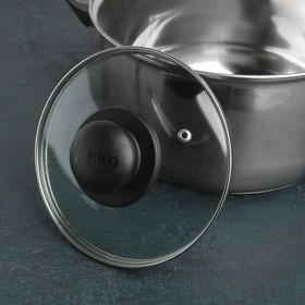 {{photo.Alt || photo.Description || 'Крышка для сковороды и кастрюли стеклянная, d=16 см, с пластиковой ручкой'}}