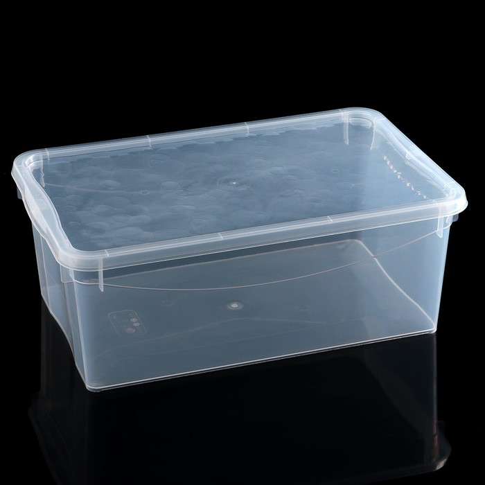 Ящик для хранения с крышкой Bubble Boom, 36,4×22,9×13,5 см, цвет МИКС - фото 308334866