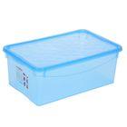 Ящик для хранения, прямоугольный 36х14х23 см Bubble Boom, цвет МИКС