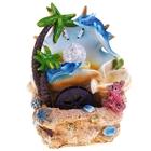 фонтан морской отдых 28*20 см дельфинчики