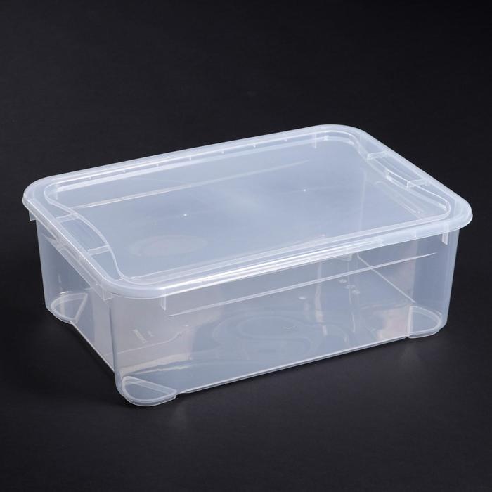 """Ящик для хранения, прямоугольный 55×19×39 см """"Кристалл"""""""