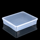 Ящик для хранения, прямоугольный 40х33,5х8,5 см Bubble Boom, цвет МИКС