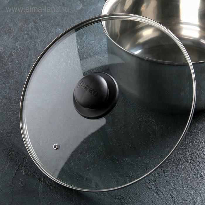 Крышка стеклянная d=28 см