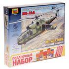 """Сборная модель """"Вертолёт Ми-24А"""""""