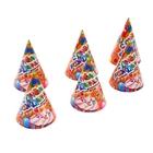 """Колпак """"С Днем Рождения!"""", пирожное, набор 6 шт, в разложенном виде"""