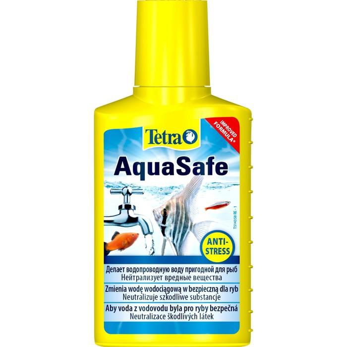 Кондиционер для подготовки воды AquaSafe  100мл на 200л