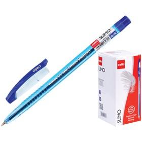 Ручка шариковая Cello Slimo, узел 1.0 мм, чернила синие, корпус синий